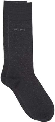 BOSS Mercerised Pin Dot Cotton Socks
