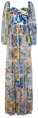 Dolce & Gabbana Majolica Bodice Gown