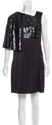 Acne Studios Embellished Shift Dress