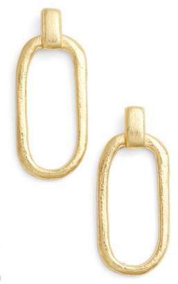 Women's Karine Sultan Doorknocker Earrings $51 thestylecure.com