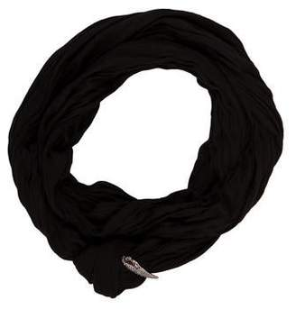 Donni Charm Charm-Embellished Infinity Scarf