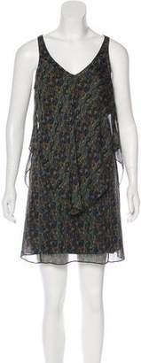 Theyskens' Theory Silk Mini Shift Dress