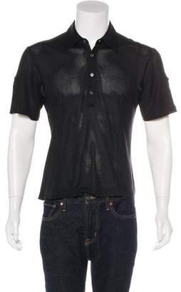 Gucci Sheer Polo Shirt