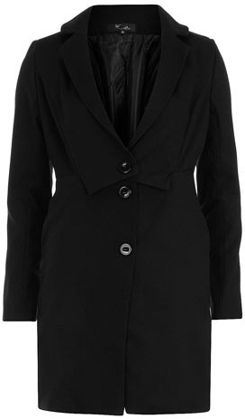 Dorothy Perkins Black light weight coat