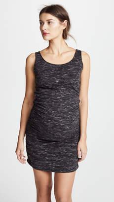 9979911fa26 Ingrid   Isabel Marble Shirred Maternity Tank Dress