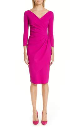 Chiara Boni Charisse Ruched Sheath Dress