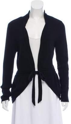 Magaschoni Long Sleeve Rib Knit Sweater