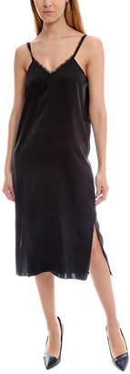 Warehouse ATM Fringe Trim Cami Dress