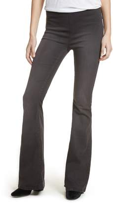 Free People Gummy Pull-On Flare Leg Jeans