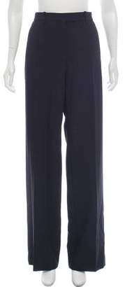 Celine Wool High-Rise Wide-Leg Pants