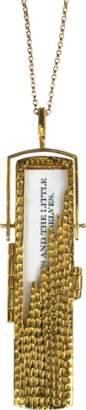 Fortune & Frame Jagged Fortune Locket Necklace