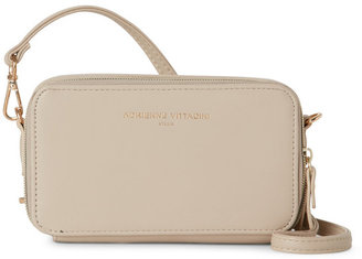 adrienne vittadini Sand Charging Crossbody Wallet $70 thestylecure.com