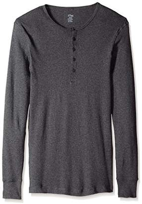 2xist Men's Essential Long Sleeve Henley