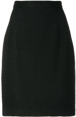 Krizia Pre-Owned straight skirt