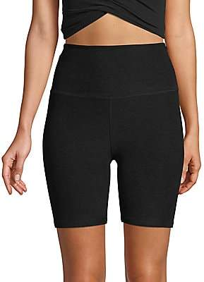 Beyond Yoga Women's Space Dye High-Waist Bike Shorts