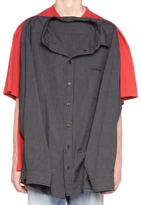 Balenciaga Oversized Dual Combo T-Shirt