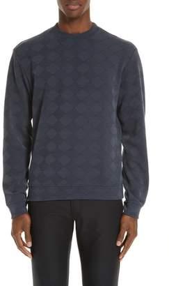 Emporio Armani Crewneck Jacquard Sweater