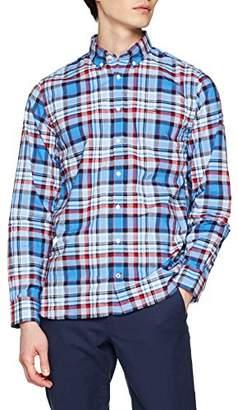 7f51c567 Tommy Hilfiger Men's Marvelous Check Shirt Casual Shirt, Blue (Regatta/Haute  Red/