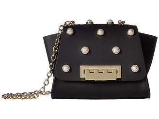 Zac Posen Eartha Iconic Mini Chain Crossbody Pearls Handbags