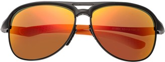 Breed Jupiter Aluminium Black Sunglasses w/ Polarized Lenses