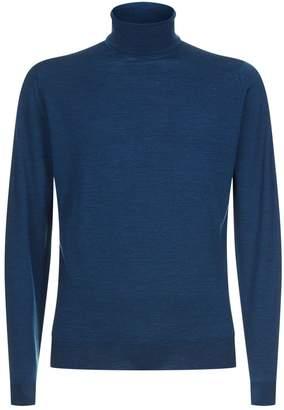 John Smedley Merino Wool Roll Neck Sweater