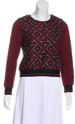 Jonathan Simkhai Patterned Knit Sweater