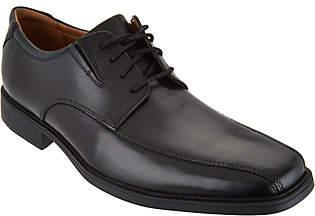 Clarks Men's Leather Lace-up Dress Shoes -Tilden Walk