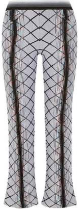Missoni Wool-Blend Jacquard Flared Pants