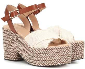 Castaner Xareni canvas wedge sandals