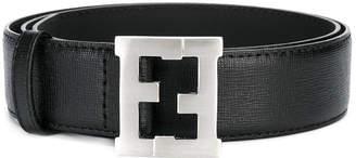 Fendi Teen logo buckle belt