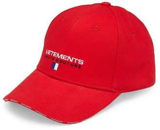 Vetements Haute Couture Baseball Cap