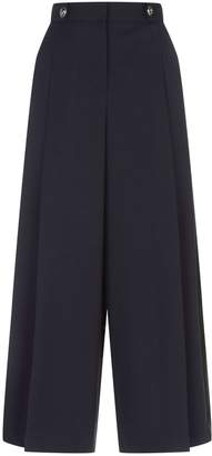 Alexander McQueen Tailored Military Culottes