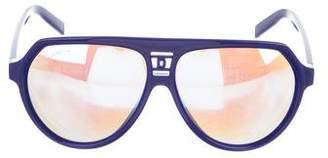 DSQUARED2 Polarized Aviator Sunglasses