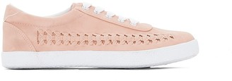 La Redoute Collections Nude Trainers with Plaited Detail