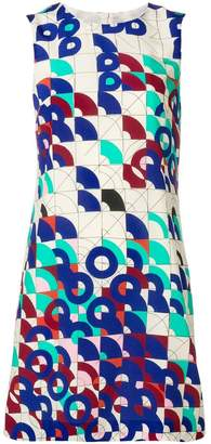 M Missoni geometric print shift dress