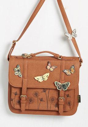 Disaster Designs Ltd. I'd Like to Mariposa Question Bag $79.99 thestylecure.com