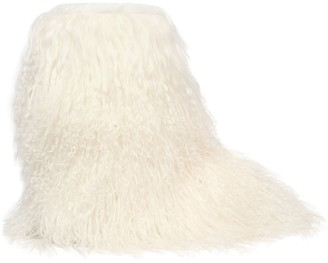 Chiara Ferragni 20mm Mongolian Fur Snow Boots