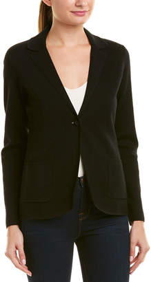 Brooks Brothers Wool-Blend Sweater Blazer