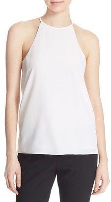 Women's Tibi Silk Halter Top $198 thestylecure.com