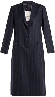 Giuliva Heritage Collection - Tatjana Pinstriped Coat - Womens - Navy Multi