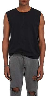 NSF Men's Cotton High-Low Sleeveless T-Shirt