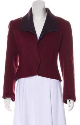 Halston Wool Tailored Jacket