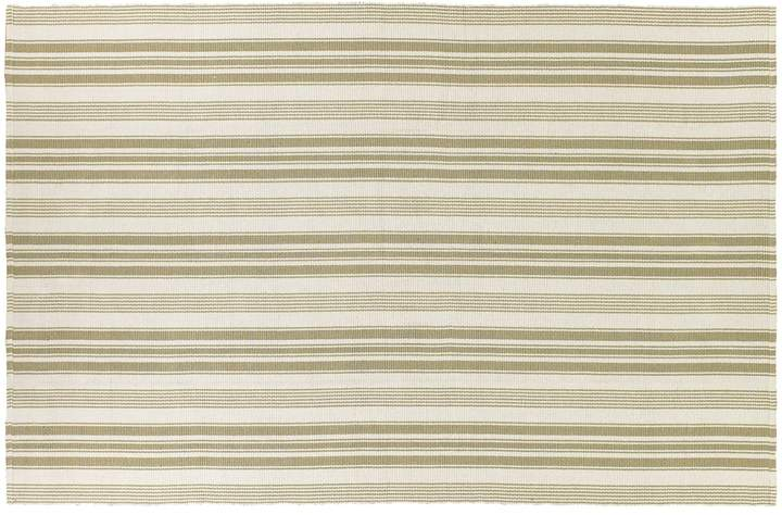 Couristan Couristan Bar Harbor Pina Colada Striped Reversible Cotton Rug