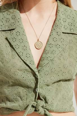 Urban Outfitters Under The Sun Pendant Necklace
