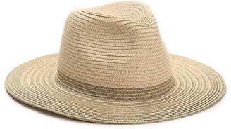 Kelly & Katie Metallic Trim Panama Hat - Women's