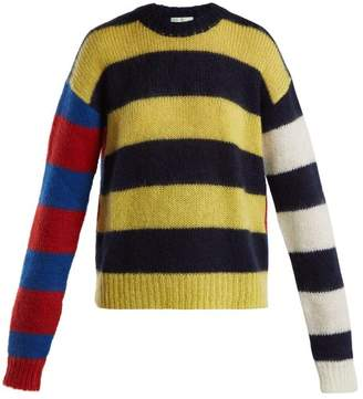 Aries Striped Knitted Sweater - Womens - Multi