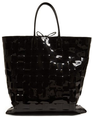 1bbf068eaa5 Black Patent Leather Bag - ShopStyle UK