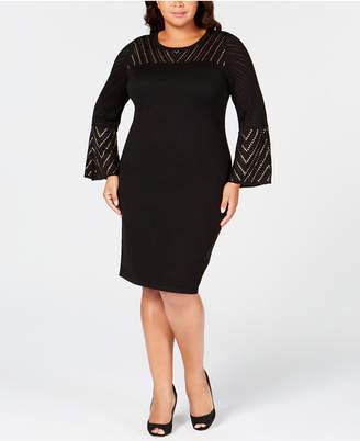 Plus Size Studded Dress Shopstyle