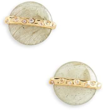 Gorjana Brinn Shimmer Stud Earrings