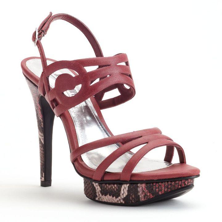 JLO by Jennifer Lopez platform dress sandals - women